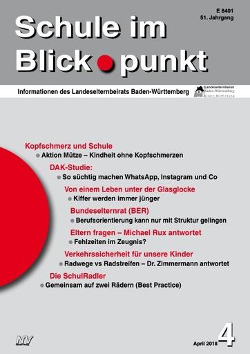 SiB, Schuljahr 2017/18, Nr 4, April 2018, Mediensucht