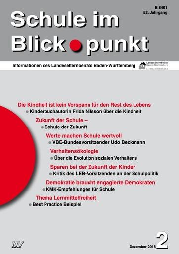 SiB, Schuljahr 2018/19, Nr 2, Dezember 2018, Elternjahrbuch 2018/2019